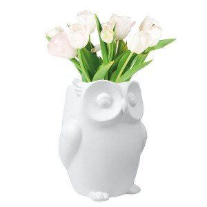 Eulen Vase