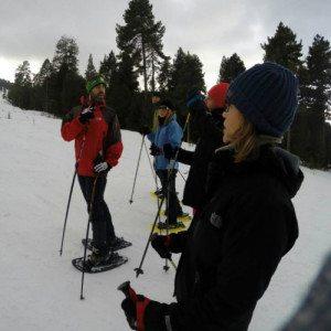 Excursión con Raquetas de Nieve - Gerona