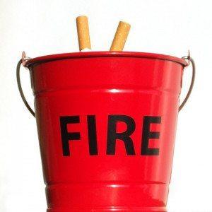 Fire - El cenicero más divertido para decorar tu casa