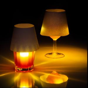 Luz flotante