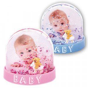 Bola de cristal perfecta para poner la foto de tu bebé