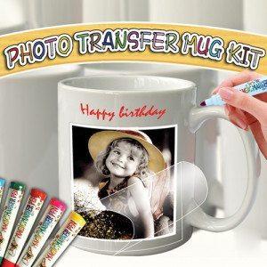 Kit para hacer tu propia taza con foto