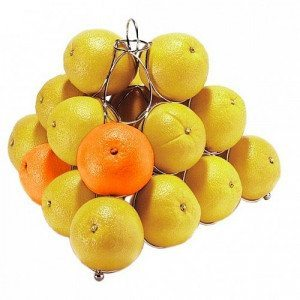 Pirámide de frutas