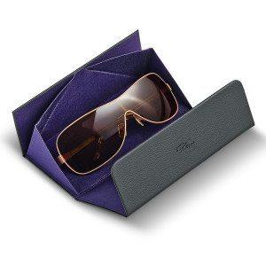 Funda de piel para gafas Allegro - Plegable y personalizable