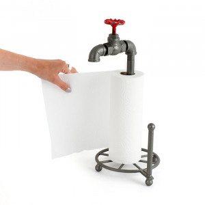 Für Klempner - Küchenrollenhalter mit Hahn