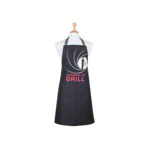"Grillschürze ""Licensed to Grill"""