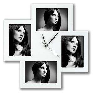 Reloj de pared grande con fotos – el reloj que se decora con fotos