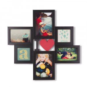 Marco para fotos  « I ♥ » Todos sus seres queridos en un marco