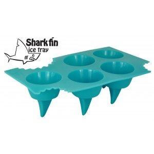 """Molde de hielos """"Tiburón"""" para una bebida de miedo"""