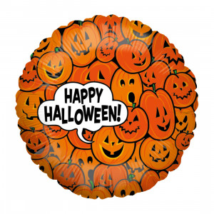 "Globo de helio ""Calabaza de Halloween"""
