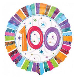 """Globo de helio """"100"""" –"""