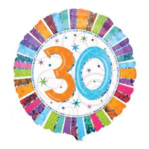"""Globo de helio """"30 Cumpleaños"""""""