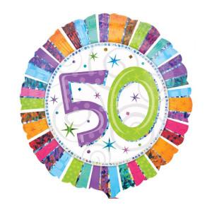 """Globo de helio """"50 Cumpleaños"""""""