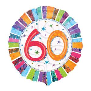 """Globo de helio -  """"60 Cumpleaños"""""""