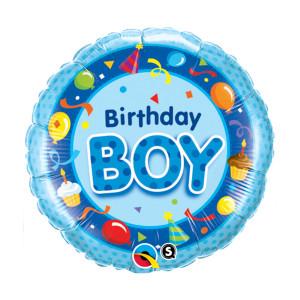 "Globo de helio ""Birthday Boy"""