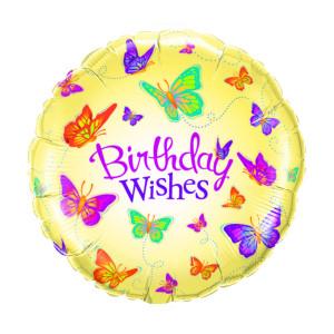 "Globo de helio ""Birthday Wishes"""