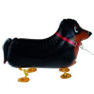 """Globo de helio """"Perro salchicha"""" – el perro más encantador en casa"""