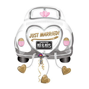 "Globo de helio ""Just married"""