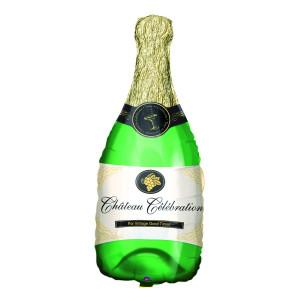"""Globo de helio """"Champán"""" – la botella más cotizada"""