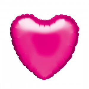"""Globo de helio """"corazón rosa"""""""
