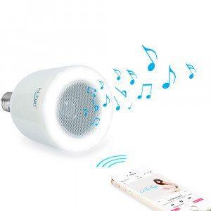 hi-LED - Lautsprecherlampe mit Bluetooth