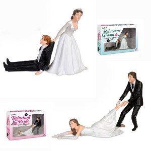 Hochzeitstorten-Figuren mal anders