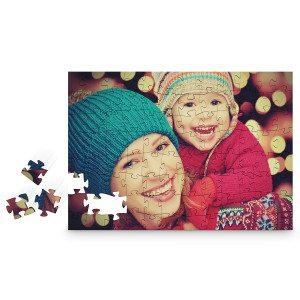 Holzpuzzle mit persönlichem Foto