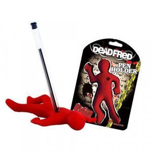 """Porta bolígrafos divertido """"Fred el muerto"""""""