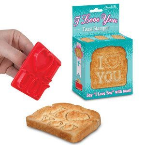 I Love you Toast Stempel