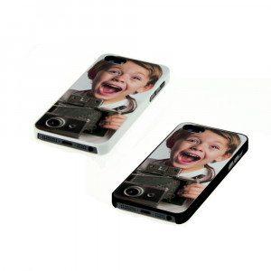 iPhone 5 Cover mit Fotodruck - schwarz
