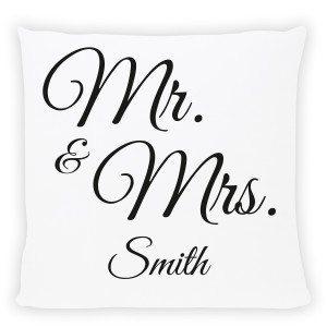 Cojin Mr. & Mrs.