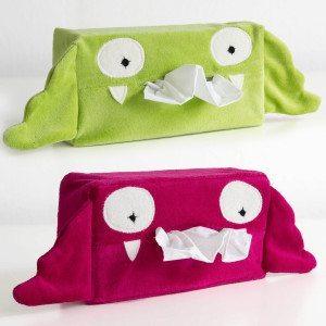 "Caja de pañuelos ""Pequeño Monstruo"""