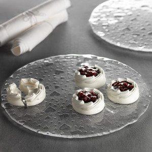 Plato para tartas con Corazones