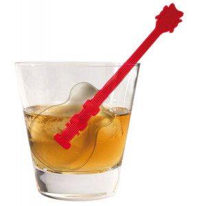 Let's rock!- Cubitos de hielo con forma de guitarra