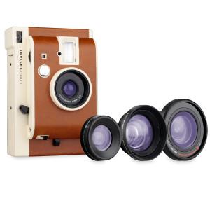 """""""Lomo 'Instant"""" Cámara de fotos instantánea con 3 lentes"""