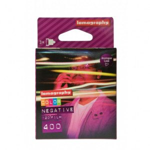 Negativo Lomography Color ISO 400 - Pack de 3 carretes