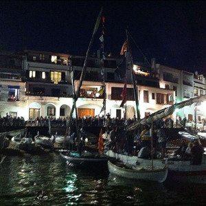 Mar de noche - Girona