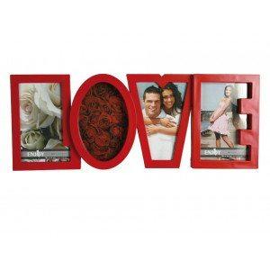 """Marco de fotos """"LOVE"""" para tus fotos de amor"""