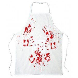 delantal para carnicero