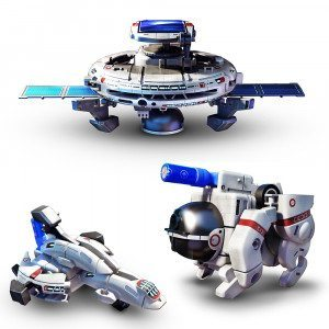 "Set ""Flota Espacial"" – ¡funciona con energía solar!"