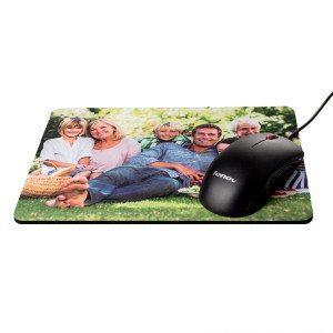 Alfombrilla de ratón cuadrada personalizable con foto-Cuadrado