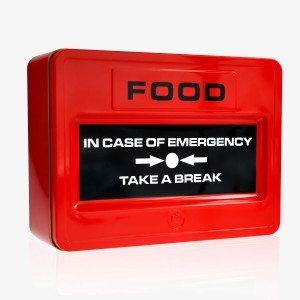 Caja de galletas de emergencia - El dulce a mano
