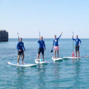 Paddle Surf en pareja - Barcelona