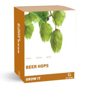 """Set de Jardinería """"Grow it"""" - Lúpulos de cerveza"""