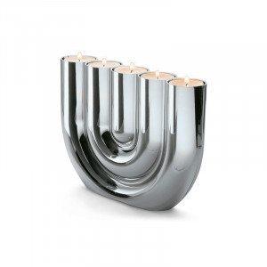 Candelabro para velas de té de diseño de Philippi