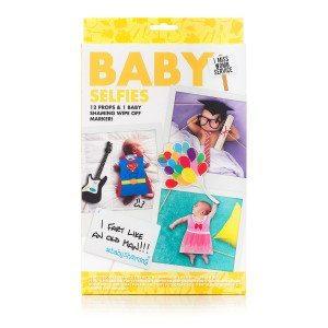 """Kit de fotomatón para bebés """"Baby Selfies"""""""
