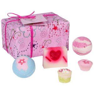 Pinke Badeträume – Geschenkset für Prinzessinnen