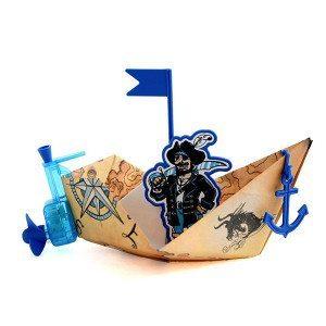 Motor para barquitos de papel PowerUp y a viajar