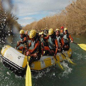 Rafting río Segura - Murcia