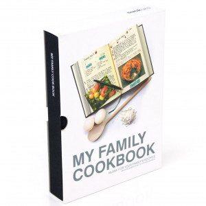 Libro de recetas: todos los secretos culinarios de la familia - negro